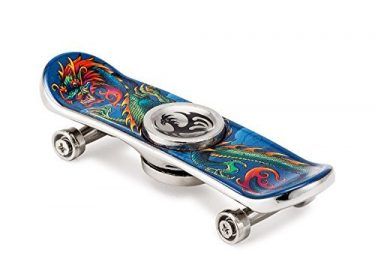 A fidget spinner or a skateboard!